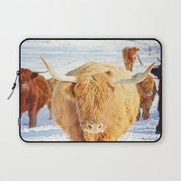 Cow Squad Goals Laptop Sleeve