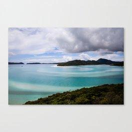 Whitsunday Islands- Whitehaven Beach Canvas Print