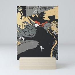 After Lautrec - Divan Japonais Mini Art Print