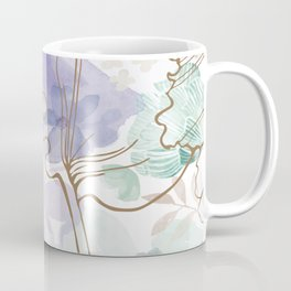 Posy Cluster -- muted Coffee Mug