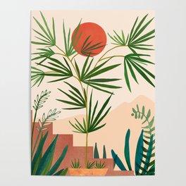 Weekend in Mojave / Desert Landscape Poster