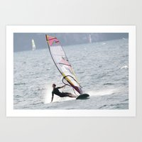 windsurfer Art Print