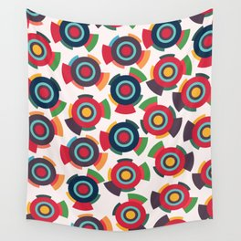 Colorful toys Wall Tapestry