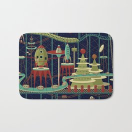 Fantastic Launch Station Bath Mat