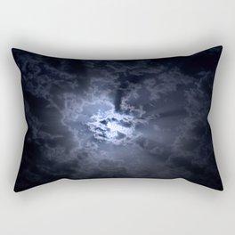 Full moon at night Rectangular Pillow