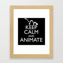 Let's Animate! Framed Art Print