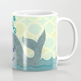 Whale Mom and Baby Coffee Mug
