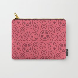 Pizza Toppings Carry-All Pouch