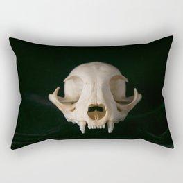 Cat Skull Rectangular Pillow