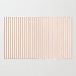 Wild MeerKat Brown Mattress Ticking Narrow Striped Pattern - Fall Fashion 2018 Rug