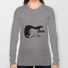 Guitar Drawing Long Sleeve T-shirt