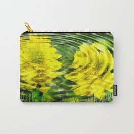 """Earth Laughs in Flowers"" by Artist McKenzie http://www.McKenzieArtStudio.com Carry-All Pouch"
