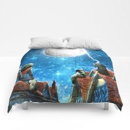 Feline Dreams Comforters