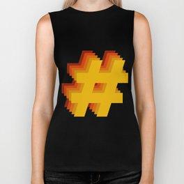 Hashtag Hashtag Hashtag - Colorway 3 Biker Tank