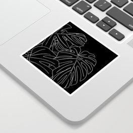 monstera Sticker