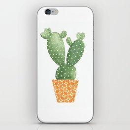 Cactus Best Friends - Prickly Pear iPhone Skin