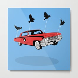 Four Wheel Fly Metal Print