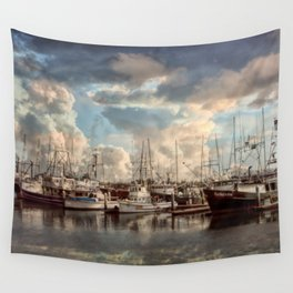 Come Sail Away Wall Tapestry