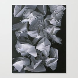 Paper Scan Canvas Print