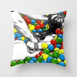 asc 470 - Games allowed in the store after closing time Throw Pillow