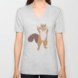 Baesic I Can't Reach Squirrel Unisex V-Neck