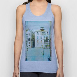 Venice (Italy) in watercolor Unisex Tank Top