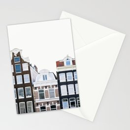 Holland Homes - Amsterdam Travel Photography Stationery Cards