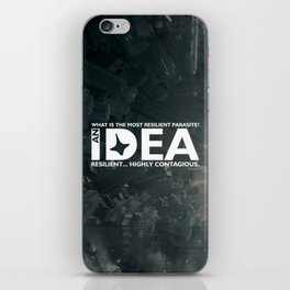 Inception - The most resilient parasite iPhone Skin