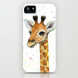 Baby Giraffe iPhone Case