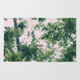 Spring Tree Branches Rug