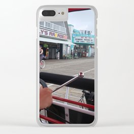 Surrey on the Boardwalk Clear iPhone Case