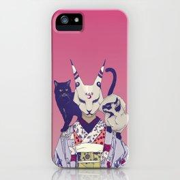 Neko Lady iPhone Case