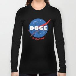 Nasa Doge Long Sleeve T-shirt
