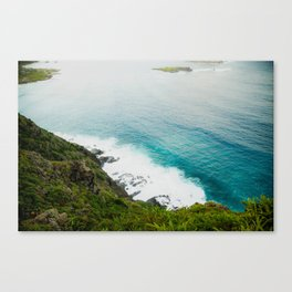 Makapuʻu Waves Canvas Print