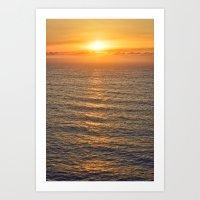 The last sunset Art Print