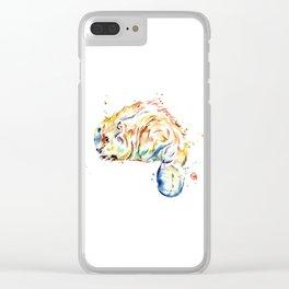 Beaver - Oh Canada Clear iPhone Case