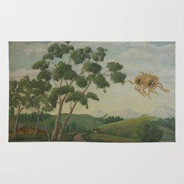 Flying Spaghetti Monster Rug