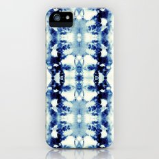 Tie Dye Blues iPhone (5, 5s) Slim Case