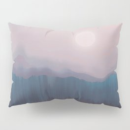 Pink Fog Pillow Sham
