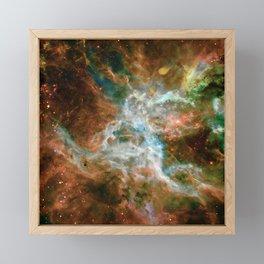 Tarantula Nebula Framed Mini Art Print