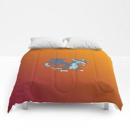 Mega Charizard X Comforters