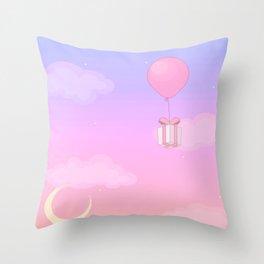 Animal Crossing Sunset Throw Pillow