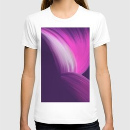 Pink and Purple Abstract T-shirt