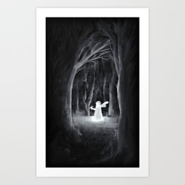 I Thought I'd Lost You Art Print