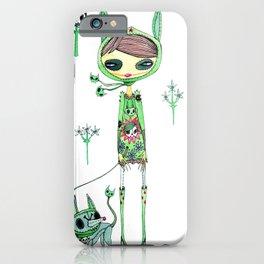 punk gree iPhone Case