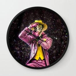Knock, Knock, Click, Bang! - Joker Wall Clock