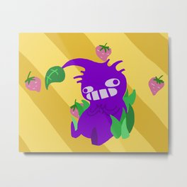 Purple Pikmin Metal Print