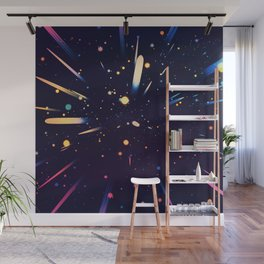 Glow Galaxy Wall Mural