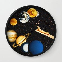 Planetary dream Wall Clock