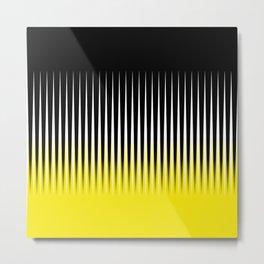 Black and yellow background #society6 #decor #buyart #artprint Metal Print